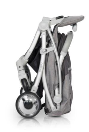 Ultralehký sportovní kočárek Colibro Clip - onyx