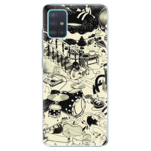 Plastové pouzdro iSaprio - Underground - Samsung Galaxy A51