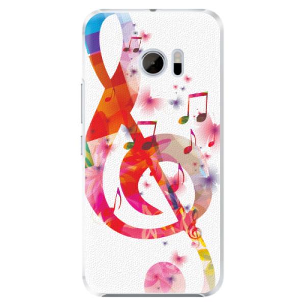 Plastové pouzdro iSaprio - Love Music - HTC 10