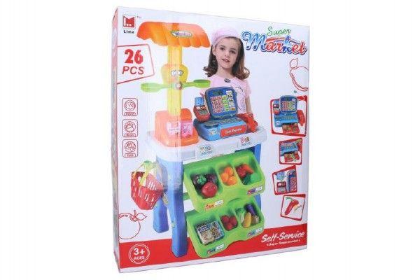 hraci-sada-supermarket-pokladna-26ks-plast-50x87cm-na-baterie-se-zvukem-se-svetlem-v-krabici