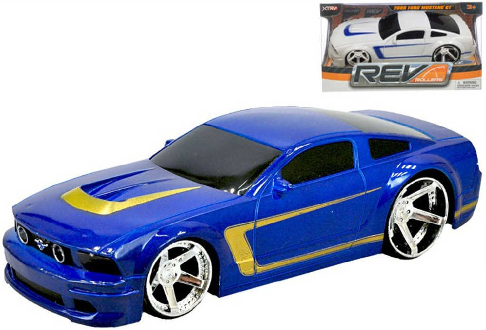 Auto Ford Mustang GT2009 model 1:24 plast 2 barvy