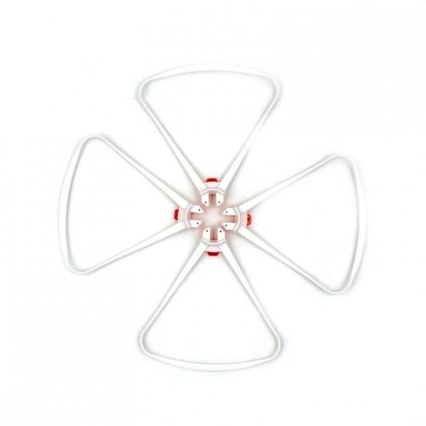 Bílé chrániče rotorů pro SYMA X8SW/X8SC/X8PRO X8S-04