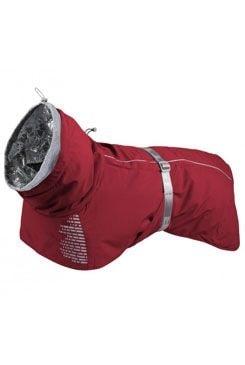 Bunda pro psa Hurtta Extreme Warmer - Červená 60