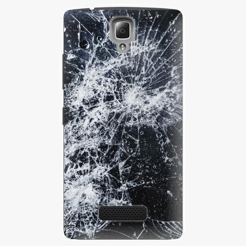 Plastový kryt iSaprio - Cracked - Lenovo A2010