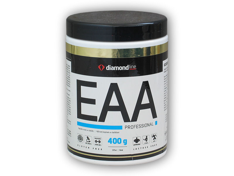 Diamond line EAA professional amino 400g-pomeranc