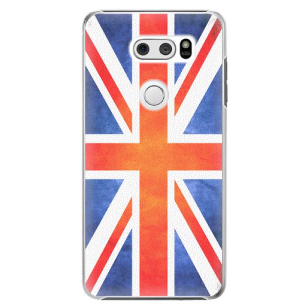 Plastové pouzdro iSaprio - UK Flag - LG V30