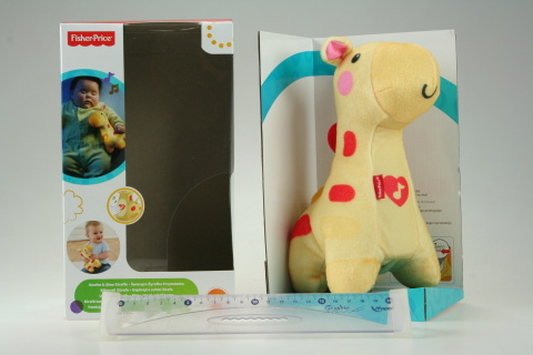 Fisher Price Žirafka do postýlky BFH65