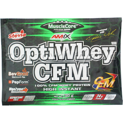 OptiWhey CFM Instant 30g - sáček-moca-choco-coffee