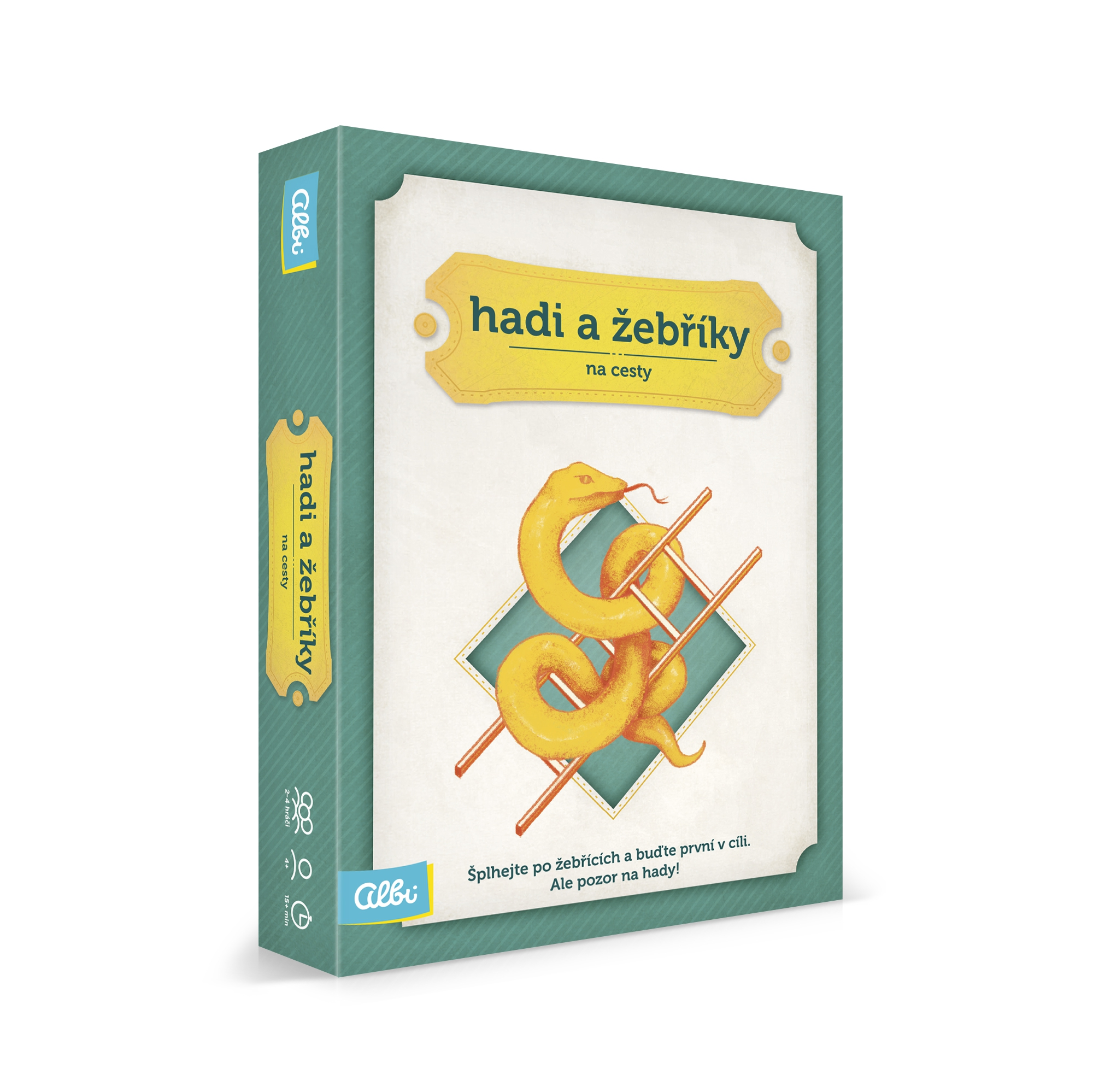 Cestovní hry - Hadi a žebříky na cesty