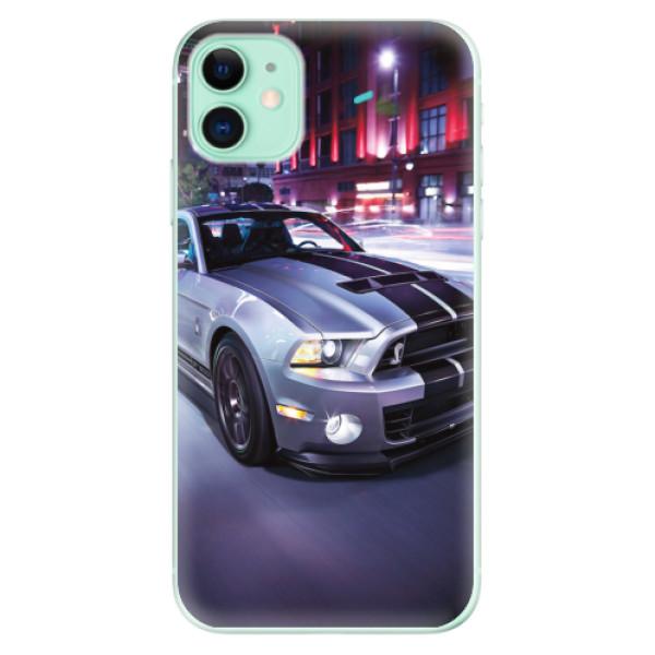 Odolné silikonové pouzdro iSaprio - Mustang - iPhone 11