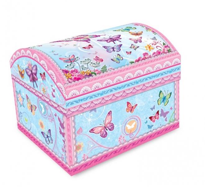 Adam Toys, Hrací skříňka s tančící baletkou - růžová