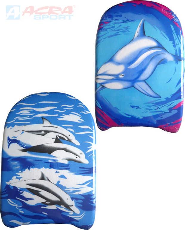 ACRA Plavecká deska plastová 43 x 27 cm různé druhy