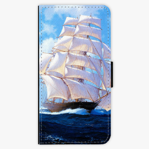 Flipové pouzdro iSaprio - Sailing Boat - iPhone 7 Plus