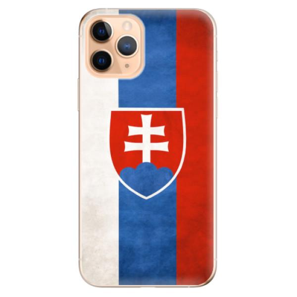 Odolné silikonové pouzdro iSaprio - Slovakia Flag - iPhone 11 Pro