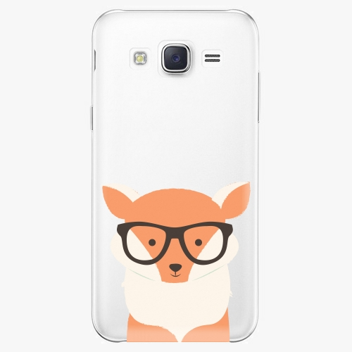 Plastový kryt iSaprio - Orange Fox - Samsung Galaxy Core Prime