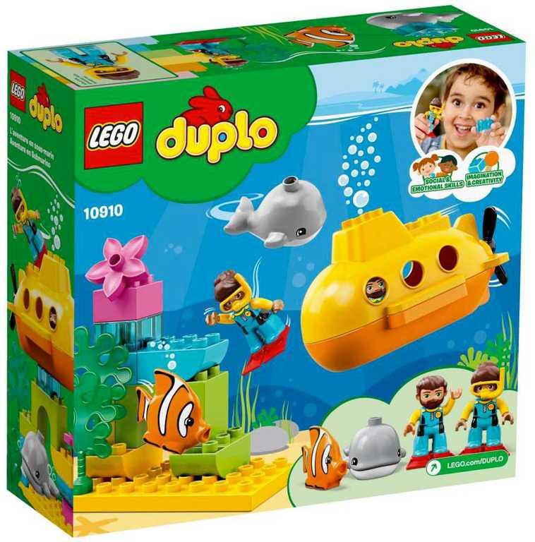 LEGO DUPLO Dobrodružství v ponorce 10910 STAVEBNICE