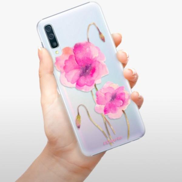 Plastové pouzdro iSaprio - Poppies 02 - Samsung Galaxy A50