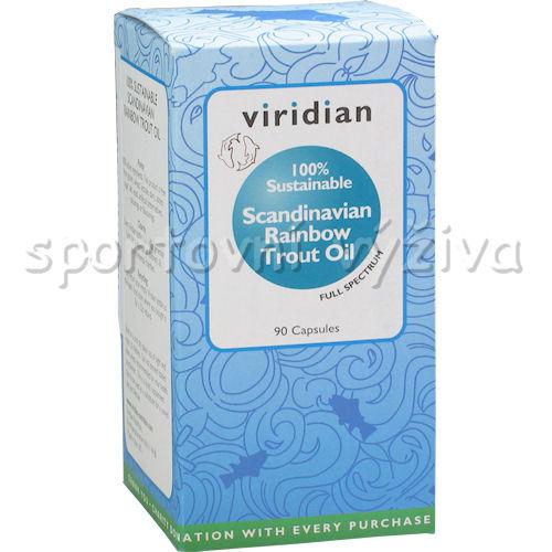 Scandinavian Rainbow Trout Oil 90 kapslí