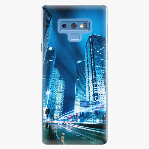Plastový kryt iSaprio - Night City Blue - Samsung Galaxy Note 9