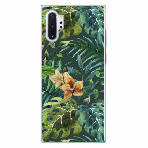 Plastový kryt iSaprio - Tropical Green 02 - Samsung Galaxy Note 10+