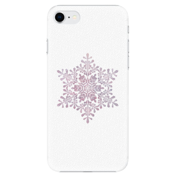 Plastové pouzdro iSaprio - Snow Flake - iPhone SE 2020