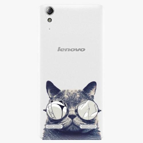 Plastový kryt iSaprio - Crazy Cat 01 - Lenovo A6000 / K3