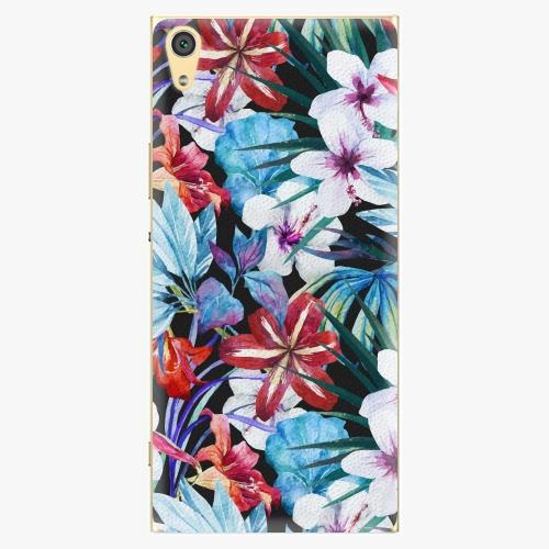 Plastový kryt iSaprio - Tropical Flowers 05 - Sony Xperia XA1 Ultra