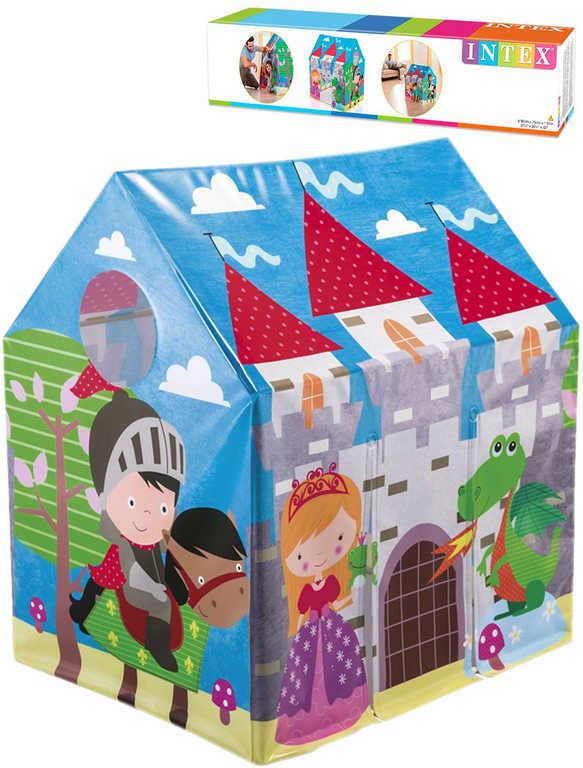 INTEX Domek dětský džungle na hraní 95x107x75cm stan vesnice plast 45642
