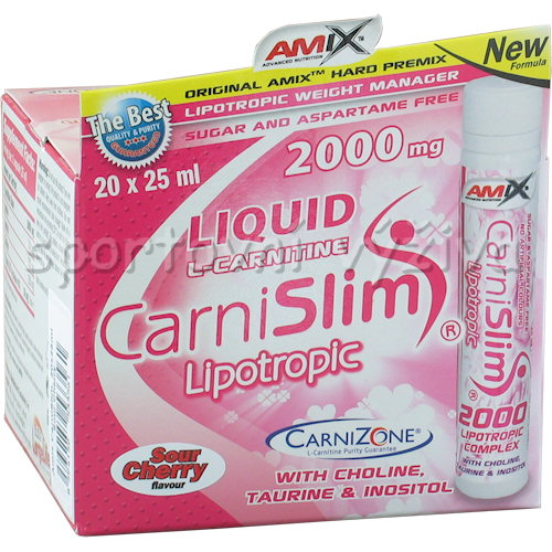 CarniSlim 2000mg 20 - ampulí-sour-cherry