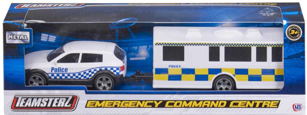 Teamsterz záchranné složky set auto kovové s karavanem různé druhy