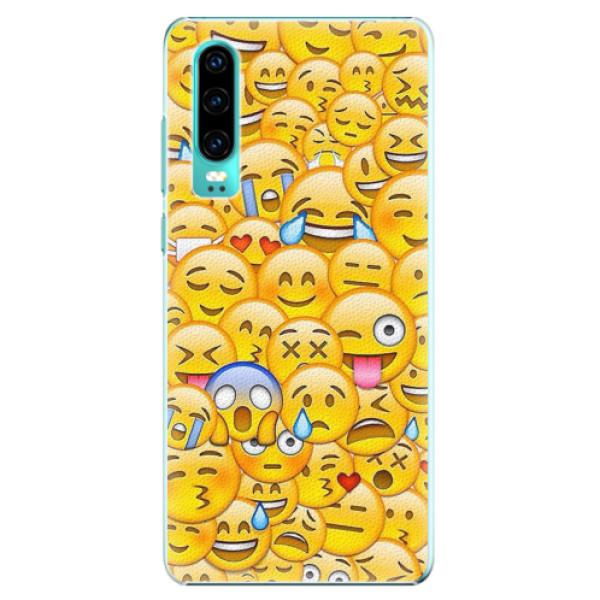 Plastové pouzdro iSaprio - Emoji - Huawei P30
