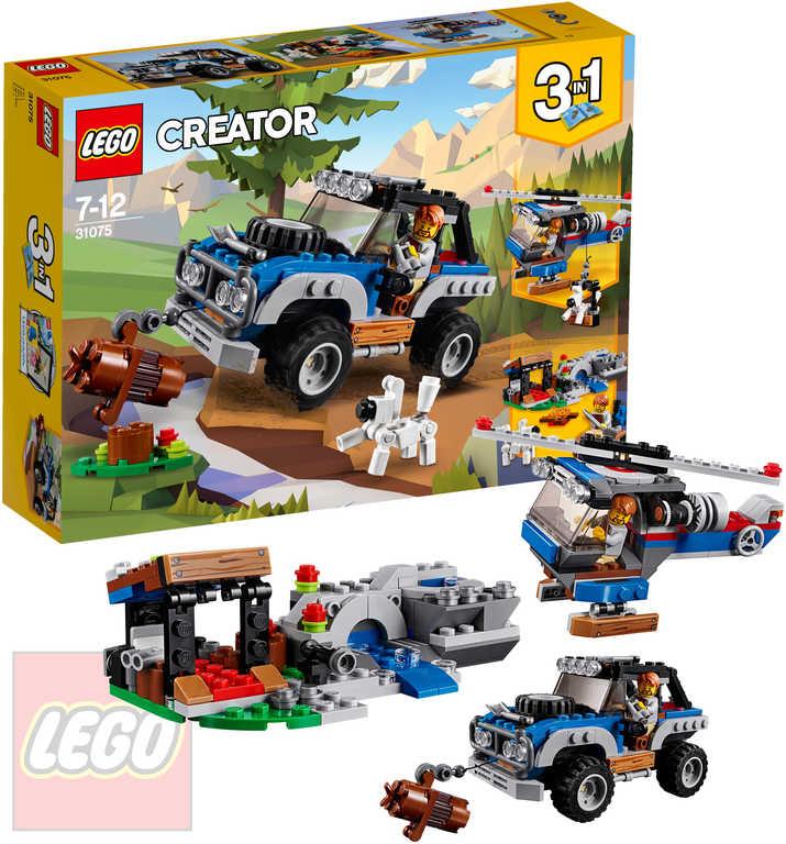 LEGO CREATOR Dobrodružství ve vnitrozemí 3v1 STAVEBNICE 31075