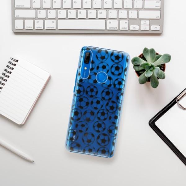 Plastové pouzdro iSaprio - Football pattern - black - Huawei P Smart Z