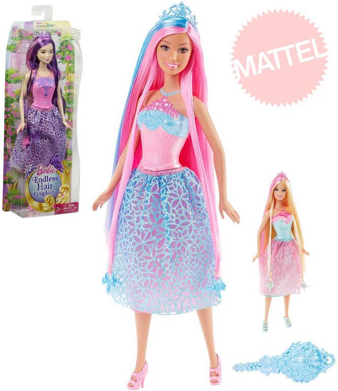 MATTEL BRB Barbie panenka 20cm princezna dlouhovláska set s doplňky 3 druhy