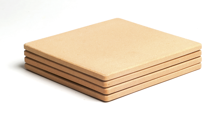 Čtvercové mini pizza kameny
