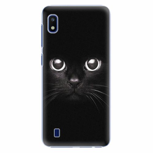 Plastový kryt iSaprio - Black Cat - Samsung Galaxy A10