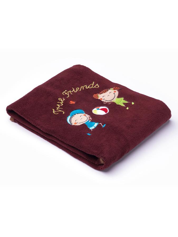 Dětská deka Sensillo Děti 75x100 cm brown - hnědá