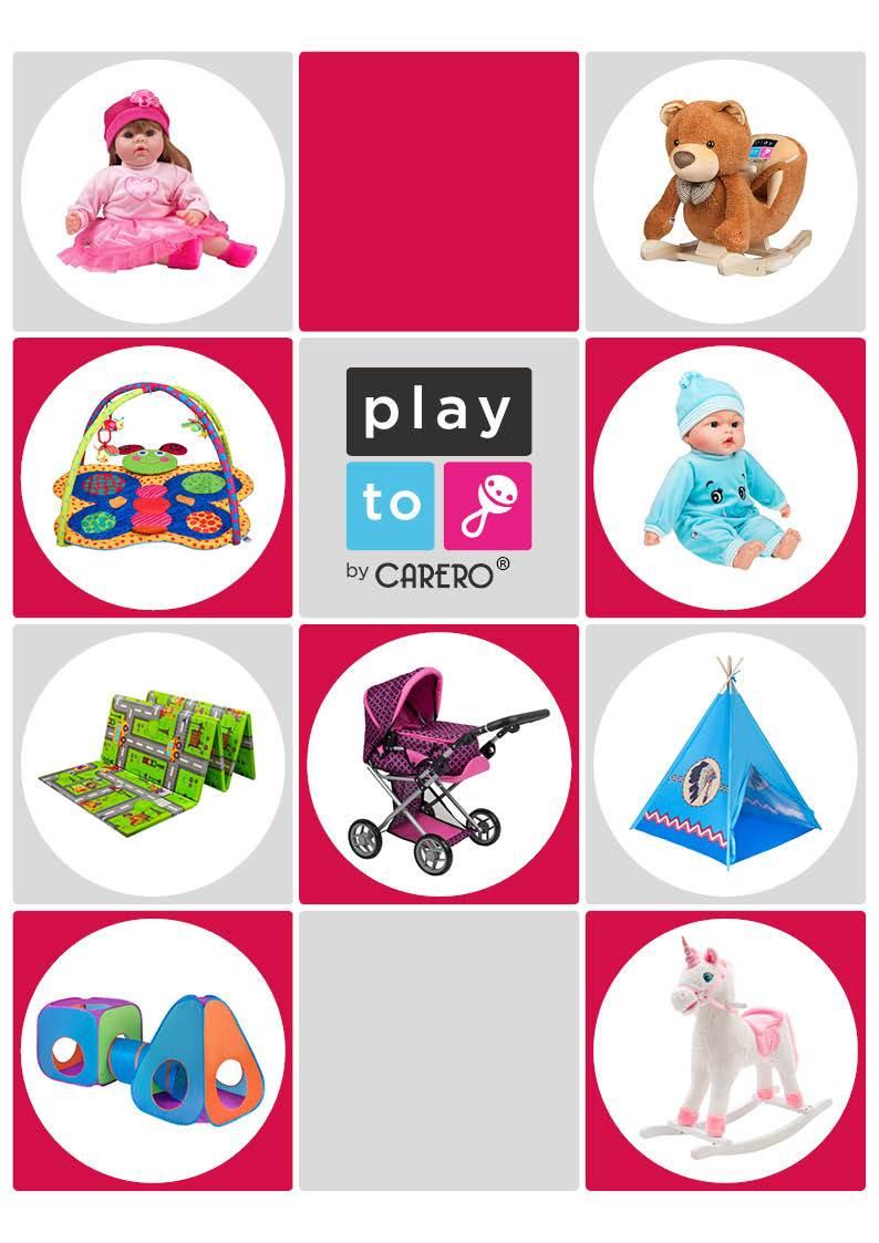 Propagační materiály PlayTo - katalog 2020 balení 100 ks - dle obrázku