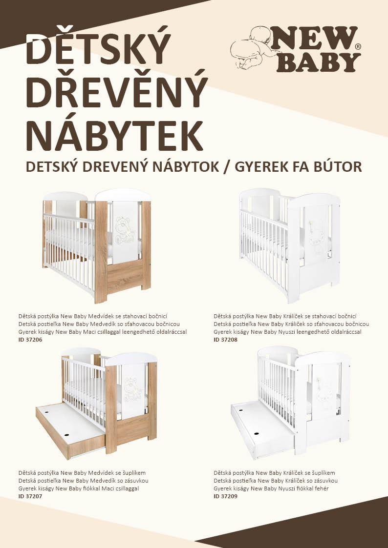 Propagační materiály New Baby NÁBYTEK - katalog 2020 balení 100 ks - dle obrázku