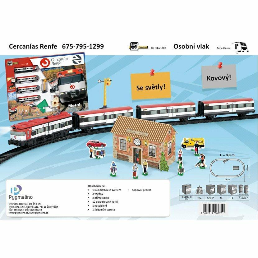 Pequetren CERCANÍAS Renfe – osobní vlak