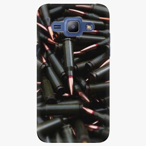 Plastový kryt iSaprio - Black Bullet - Samsung Galaxy J1