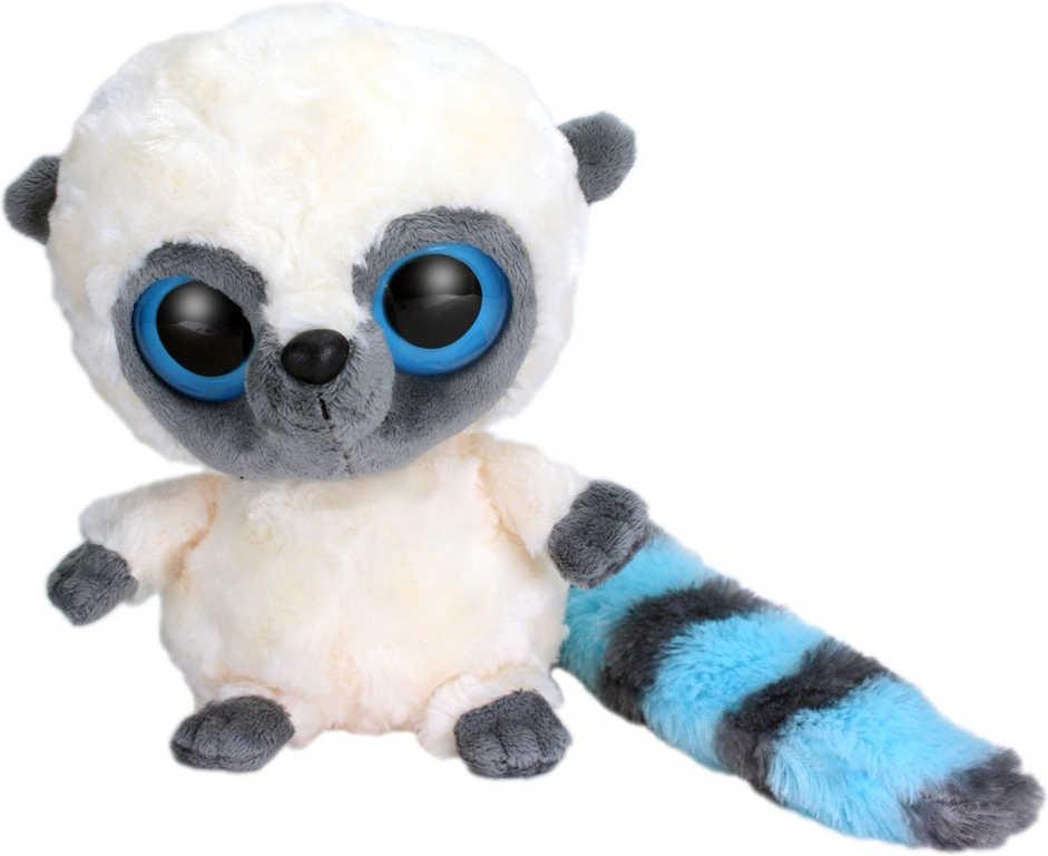 PLYŠ Yoo Hoo Lemur modrý 23cm YooHoo & Friends *PLYŠOVÉ HRAČKY*