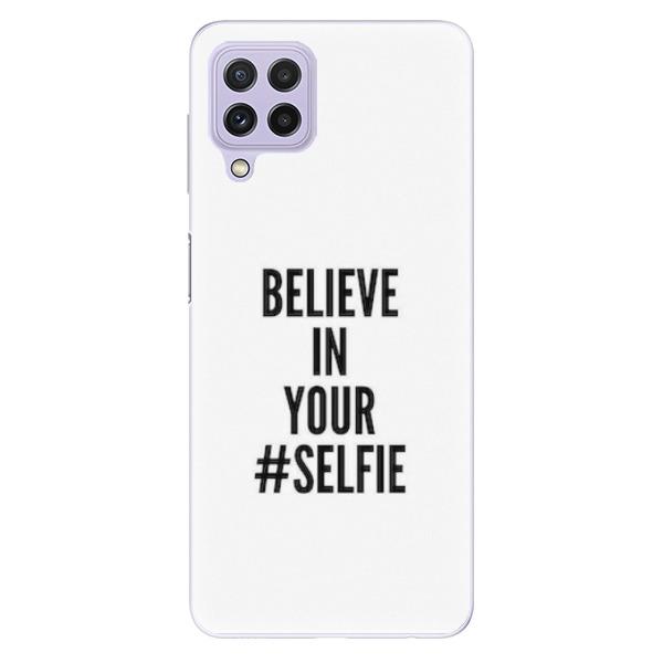 Odolné silikonové pouzdro iSaprio - Selfie - Samsung Galaxy A22