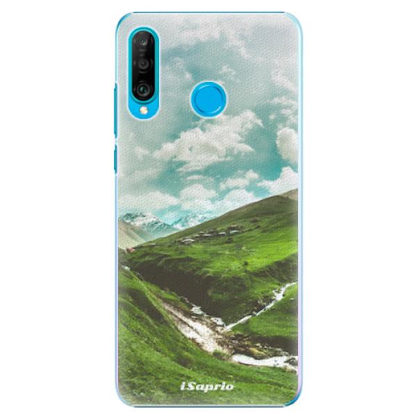 Plastové pouzdro iSaprio - Green Valley - Huawei P30 Lite