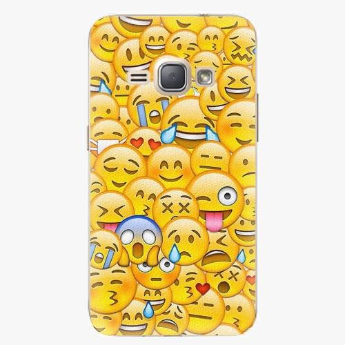 Plastový kryt iSaprio - Emoji - Samsung Galaxy J1 2016