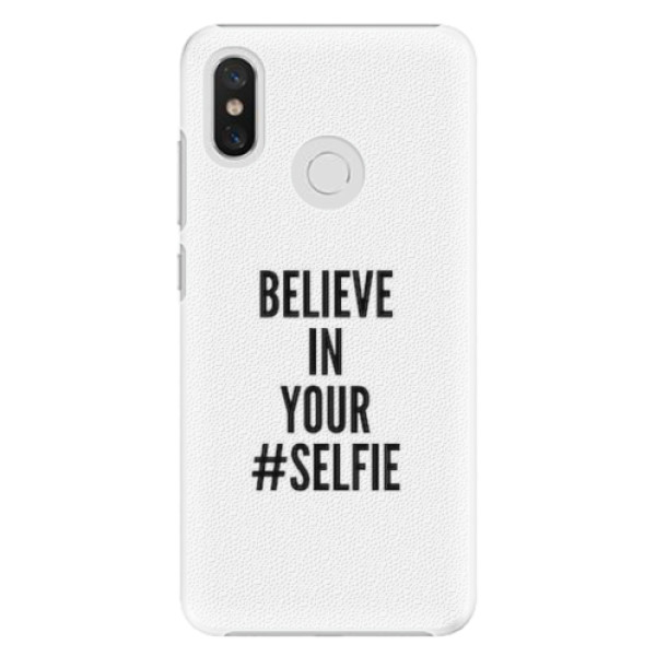 Plastové pouzdro iSaprio - Selfie - Xiaomi Mi 8