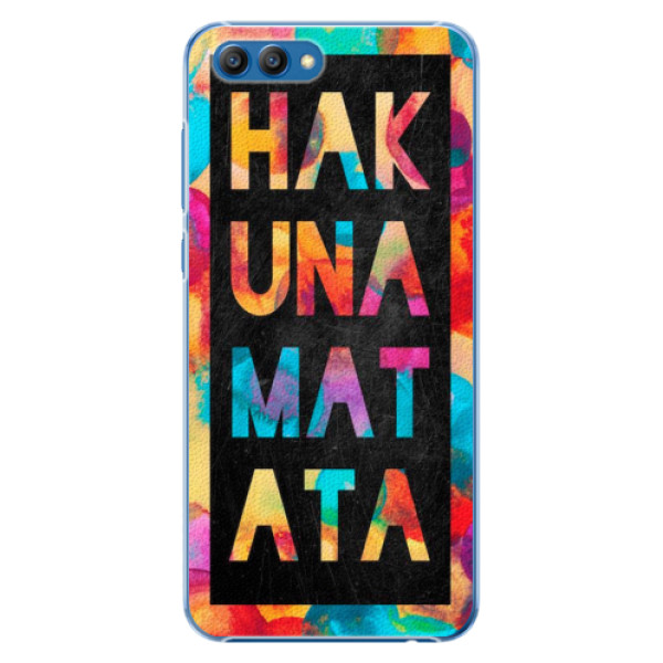 Plastové pouzdro iSaprio - Hakuna Matata 01 - Huawei Honor View 10