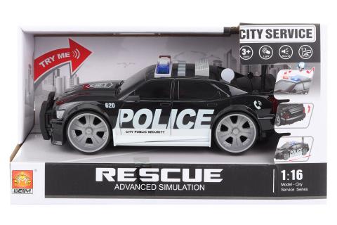 Policejní auto na baterie