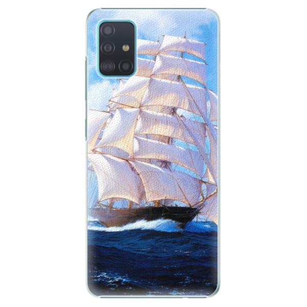 Plastové pouzdro iSaprio - Sailing Boat - Samsung Galaxy A51