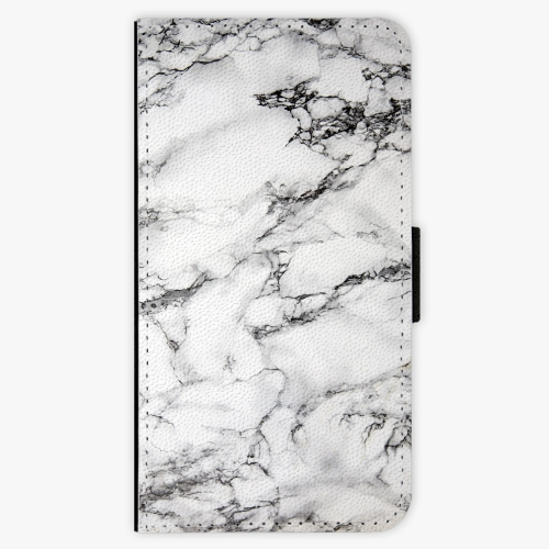 Flipové pouzdro iSaprio - White Marble 01 - Nokia 3